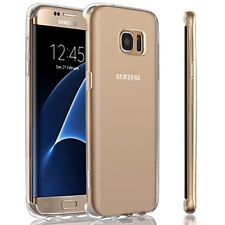 Samsung Galaxy S7 Edge Case Shockproof Slim Thin Clear Silicone Protective Cover