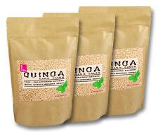 Quinoa weiß 3kg,  (3 x 1kg) von bester Qualität, praktische Zip-Beutel