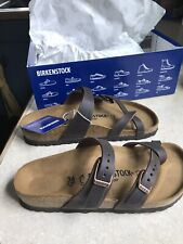 Birkenstock Womens Leather Sandal - Oiled Habana Leather