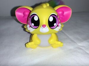 Mattel Lil Gleemerz  Furry Colorful  Long Tail Light Up talking Toy