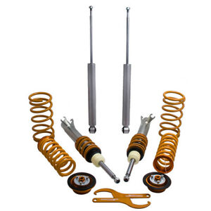 COILOVER FOR FORD FOCUS MK1 ADJUSTABLE SUSPENSION COILOVERS New