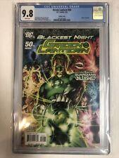 Green Lantern (2010) # 50 (CGC 9.8 WP)  Rarer Variant Cover