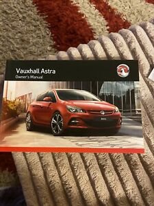 Manuals Handbooks Astra 2016 Car Owner Operator Manuals For Sale Ebay