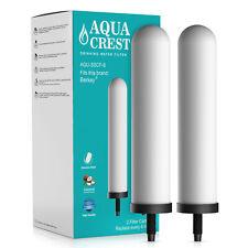 AQUACREST Ceramic Filter Replacement for British Berkefeld SSCF-9 9-Inch 2 Pack