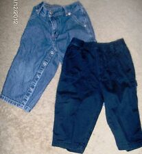 BOYS TWO PAIRS OF PANTS SIZE 18 MONTHS