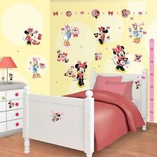 Wandsticker Kit für Kinderzimmer Disney Minnie Mouse 41431 Walltastic