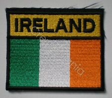 Irish Defence Forces Flag Tri-colour Arm Badge