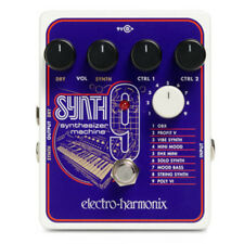 Electro Harmonix SYNTH9 Synthesizer Machine Guitar Pedal Synth 9
