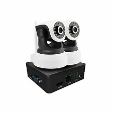 2CH 960P Wireless Camera System NVR Pan Tilt Audio Network CCTV Security IR Home