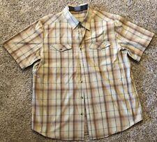 Merrell Button Front Shirt Mens Size XL