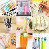 Cool Assorted Ballpoint Gel Pen Pencil School Student Stationary Office Writing