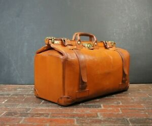 Tanner & Krolle Luxury Leather English Gladstone Bag