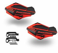 PowerMadd Sentinel Handguard Guards Kit Red Black Yamaha Banshee 350 34402