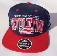 ADIDAS - New England Revolution - MLS Men's 2 Tone Wool Flat Brim Snapback Hat