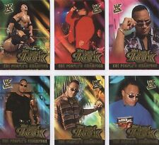 RARE! Full 15 Card Insert Set: THE ROCK PEOPLES CHAMPION wwe wwf DWAYNE JOHNSON