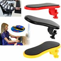 Rotatable Computer Armrest Adjustable Arm Wrist Rest Support for Home Office UK