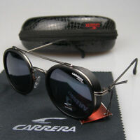 NEW Arrived Men Women Retro Sunglasses Windproof Matte Frame Carrera Glasses KM9