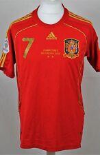 ESPAÑA 2007-09 Adidas #7 Villa 100 P