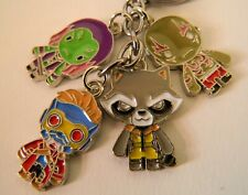 Guardians of the Galaxy  key chain / key ring Starlord Rocket. Stock clearance