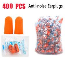 400X Ear Plugs Sleeping Hearing Protection Noise Reduction Hunting Shooting Foam