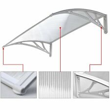 FRONT/BACK DOOR CANOPY SMOKE SHELTER HOUSE/CARAVAN (WHITE) 1200mm x 800mm