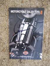 2009 Harley-Davidson Motorcycle Dealership Sales Tool Catalog All Models V