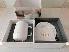 White Ceramic Ember Temperature Control Smart Mug in white