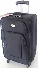 Koffer,Trolly,Stoff-Reisekoffer,4-große-stabile-Rollen,elegant,Mittlere-70L Neu