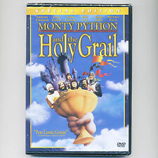Monty Python & the Holy Grail 1975 British comedy PG movie, new DVD Cleese Palin