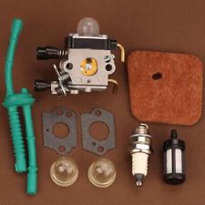US Carburetor fits Stihl FS55 FS55R FS55RC KM55 HL45 KM55R FS38 w/ Fuel Line Kit