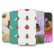 For iPhone 6 6S Flip Case Cover Bees Collection 4