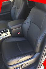 2011-2018 Toyota 4Runner 2 Row KATZKIN Black Leather Seat Covers Kit SR5 Trail