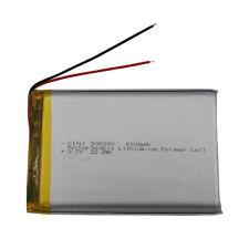 3.7V 6000 mAh Polymer Li Battery LiPo 906090 For GPS PDA iPAQ ipod DVD Tablet PC