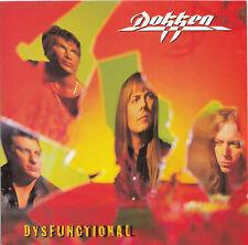 DOKKEN Dysfunctional | CD European Columbia | Original von 1995