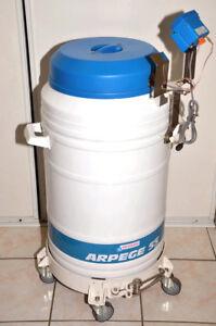 Réservoir cryoconservation azote AIR LIQUIDE arpege 55 + rack cryo-tubes + sonde