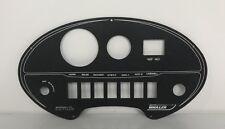 """Boston Whaler Dauntless Black Metal Gauge/Switch Panel 16-1/2"""" x 9"""" Boat/Marine"""