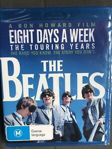 The Beatles: Eight Days A Week - The Touring Years Blu-Ray Region B Brand New