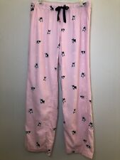 J Crew Pink French Bulldog Pajama Bottoms S