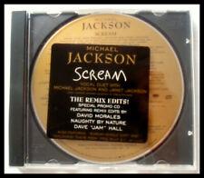 MICHAEL JACKSON - SCREAM - (JANET JACKSON) (THE REMIX EDITS!) - CD SINGLE RARE!!
