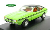 BNIB OO GAUGE OXFORD DIECAST 1:76 76CPR001 Ford Capri MkII Lime Green Car