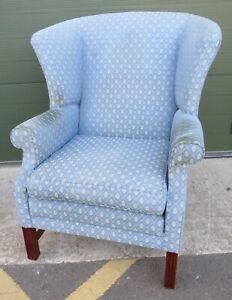 Parker & Farr Wing-Back Armchair Easy Chair Lovely Quality