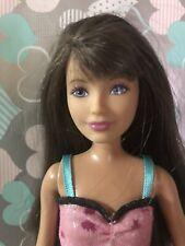Mattel Barbie Skipper Brunette Blue Eyes Beautiful Sisters Sleep Out 2010