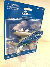PULL BACK FUN PLANE KLM (WITH LIGHT AND SOUND) for ages 3 and up.