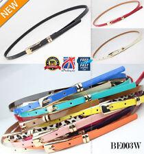 Cinturones de mujer de color principal multicolor de piel sintética
