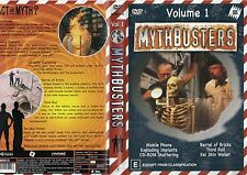 MYTHBUSTERS - Volume 1 - NEW - Never played!! - Region 4 PAL