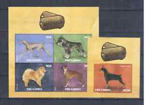 GAMBIA  2014   DOGS MNH