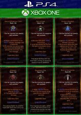 Diablo 3 - PS4 - Xbox One - 22x Bundle Legendary UNMODDED Gems (Max Rank)
