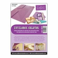 Crafters Companion ENVELOBOX CREATOR BOARD Scoreboard - Box Envelope Maker