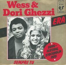 "eurovision 1975 Italy Wess & Dori Ghezzi  Era  7"" Holland"