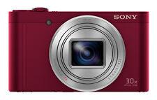 SONY DSC-WX500 Digitalkamera ZEISS Objektiv 18 MP, 30x Zoom, WiFi NFC ROT NEU